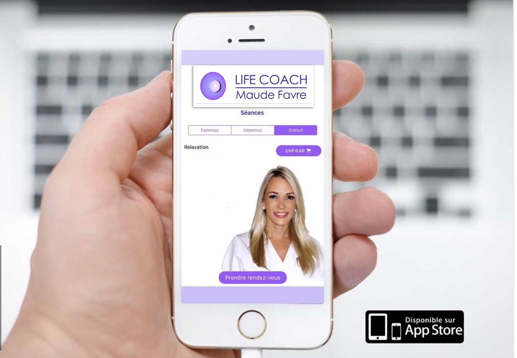 App d'hypnose sur Apple Store