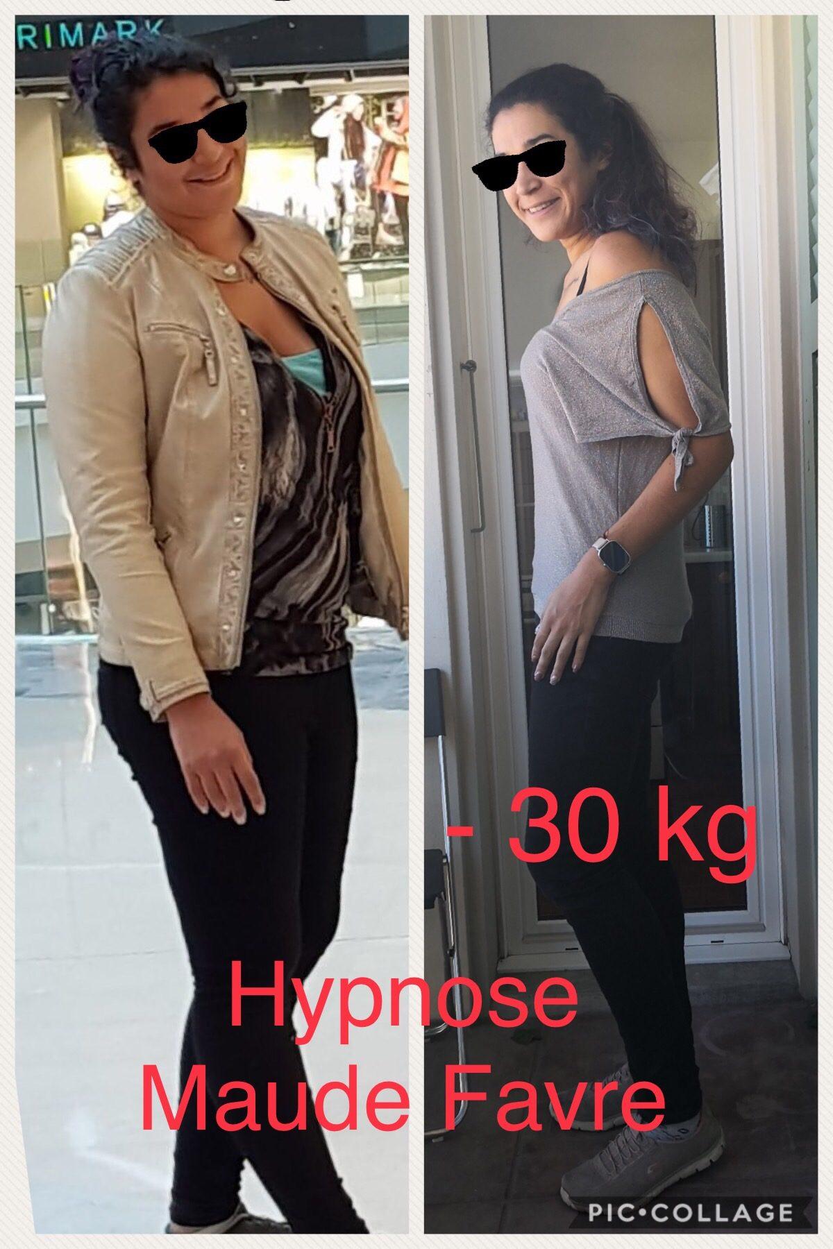 -30kg avec l'hypnose de Maude Favre